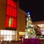 【2016年】イオンモール千葉ニュータウンのコスモス広場にてクリスマスツリーが点灯!【イルミネーション】
