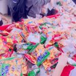 BIGHOP印西のお菓子つめ放題に行ってきました!まれにみる大行列、でもいっぱいお菓子もらえたよ