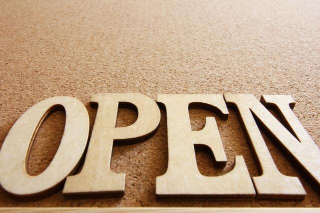 開店・オープン